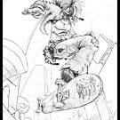 -Rachel Kemp Busts phat air whut- by DrDubyu2