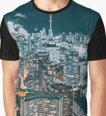 Toronto in the dark Graphic T-Shirt