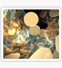 Sun Beige Pebbles Sticker