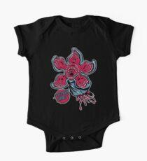 Schreiender Demogorgon Baby Body Kurzarm