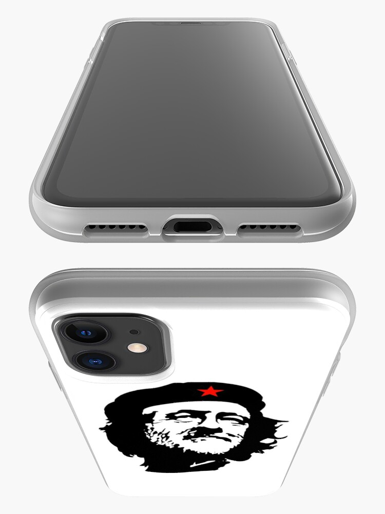 Alternative Ansicht von CORBYN, Comrade Corbyn, Election, Leader, Politics, Labour Party, Black on White iPhone-Hülle & Cover