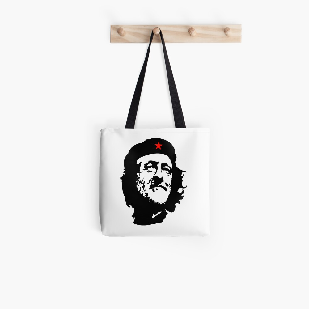 CORBYN, Comrade Corbyn, Election, Leader, Politics, Labour Party, Black on White Stofftasche