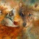 Celestial Wolves 3 by Carol  Cavalaris