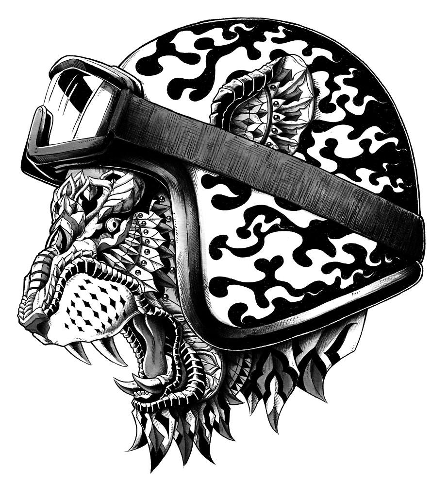 Tiger Helm by BioWorkZ