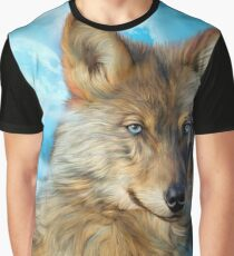 Wolf In Moonlight 2 Graphic T-Shirt