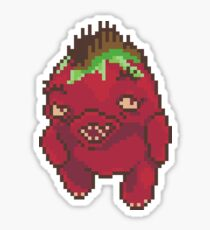 Red Choya Sticker