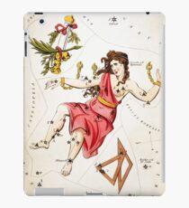 Antique Astronomical Zodiac chart Gloria Frederici Andromeda iPad Case/Skin