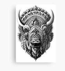 Bison Metallbild