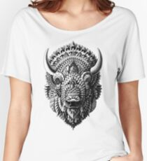 Bison Women's Relaxed Fit T-Shirt