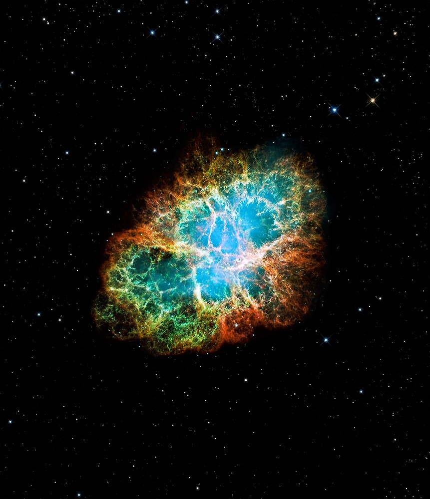 The Crab Supernova remnant by CosmicStyles
