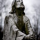 Jesus Looking to the Father by Christian Sheehy