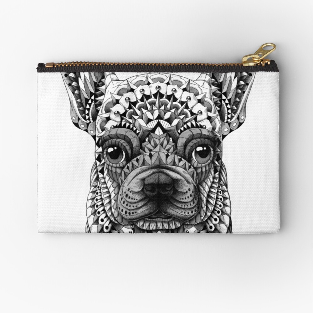 Frenchie (French Bulldog) Zipper Pouch