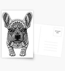 Frenchie (French Bulldog) Postcards