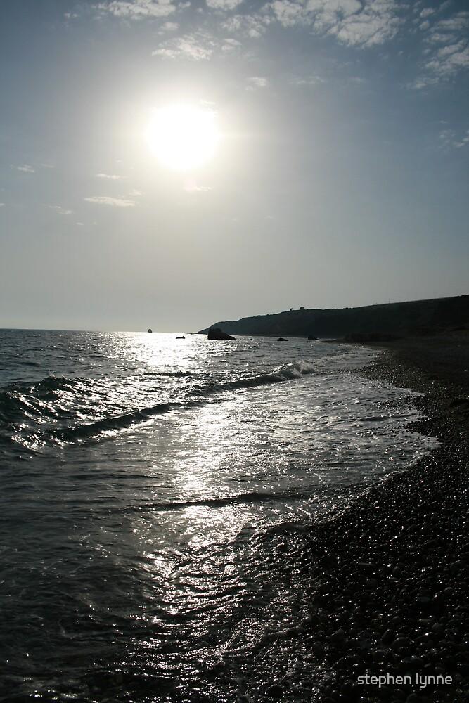 cyprus coastline  by stephen lynne