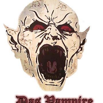 Nosferatu Das vampire by eliblackleopard