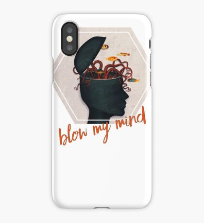 blow my mind iPhone Case