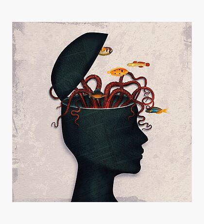 blow my mind Photographic Print