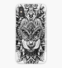 Verzierter Löwe iPhone-Hülle & Cover