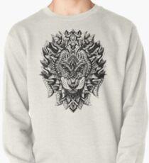 Ornate Lion Pullover Sweatshirt