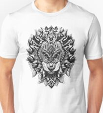 Ornate Lion Unisex T-Shirt