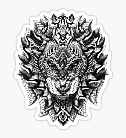 Ornate Lion Sticker