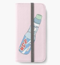 Kawaii Soda Drink (*background color customizable) iPhone Wallet/Case/Skin
