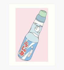 Kawaii Soda Drink  Art Print