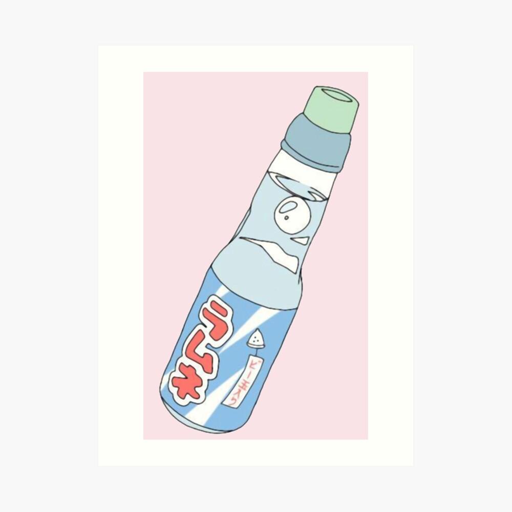 Kawaii Soda-Getränk Kunstdruck
