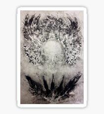 Fitcher's Bird Skull Bride Print Sticker