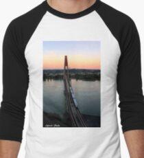 Sky Train ! Men's Baseball ¾ T-Shirt