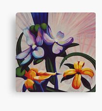 Flower Light Canvas Print