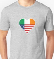 Ireland, irish - USA, America - Irland T-Shirt