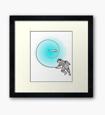 Get Lost in Space Framed Print