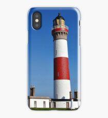 Buchan Ness Lighthouse Scotland iPhone Case/Skin