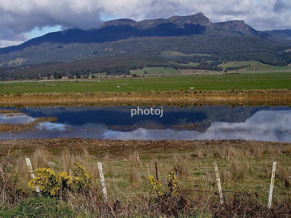 photoj Tasmania Mt Roland by photoj