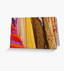 Fabrics Greeting Card