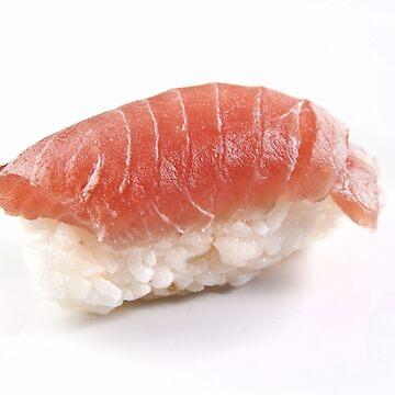 Salmon Sushi by Tonbbo