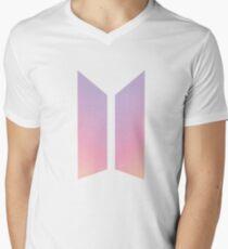 BTS NEW LOGO! Men's V-Neck T-Shirt