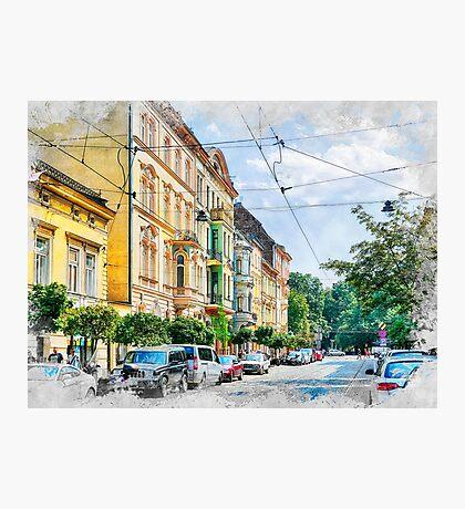 Cracow art 16 #cracow #krakow #city Photographic Print