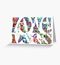 Love Dogs Greeting Card