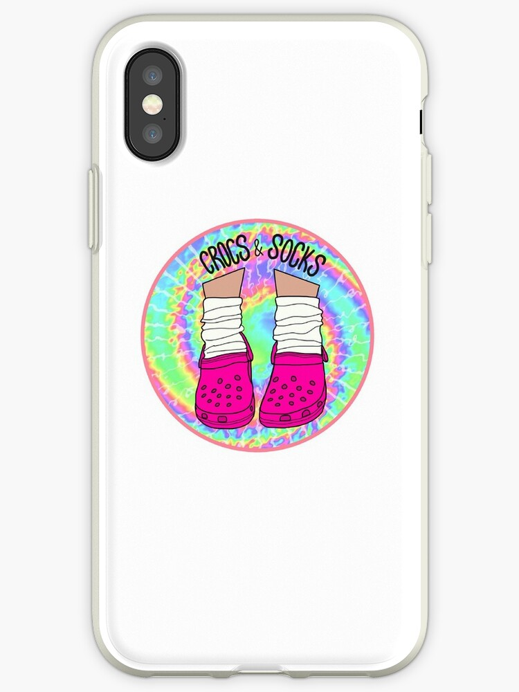 new styles e547d cab9d 'Crocs and Socks' iPhone Case by abbyconnellyy