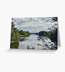 River Dee Greeting Card