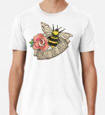 RETTE die Bienen! Männer Premium T-Shirts