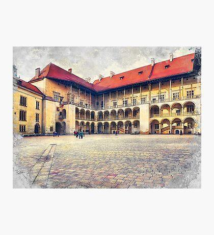 Cracow art 17 Wawel #cracow #krakow #city Photographic Print
