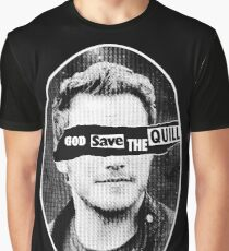 GOD SAVE THE QUILL Graphic T-Shirt