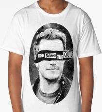 GOD SAVE THE QUILL Long T-Shirt