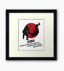 Martial Arts - Judo Framed Print