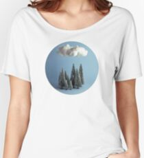 A cloud over the forest Women's Relaxed Fit T-Shirt