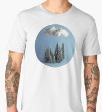 A cloud over the forest Men's Premium T-Shirt