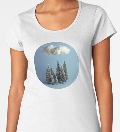 Eine Wolke über dem Wald Frauen Premium T-Shirts